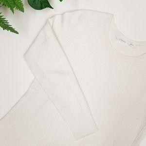 Athleta Women's Thermal Honeycomb Sweater, Size Sm